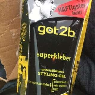 Got2B hair gel/styling gel