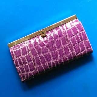 SALE! Purple Long Wallet