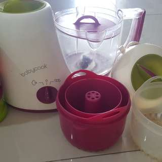 USA Beaba Babycook with pasta rice cooker +Formula container