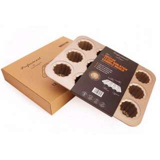 🚚 Canelés (Cannelés) de Bordeaux Baking Tray, 12pcs, Brand New, #CarouPay