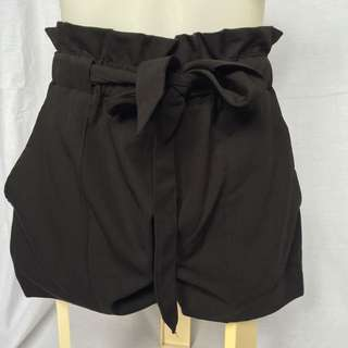 Black Tie Up Shorts Summer Or Party Shorts