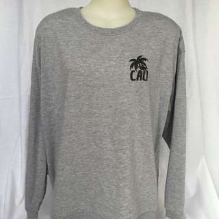 Grey Winter Jumper - California Sweater Comfy