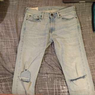 Hollister Ripped Jeans 31x34