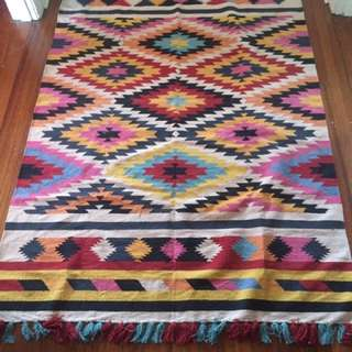 Colourful Aztec Rug