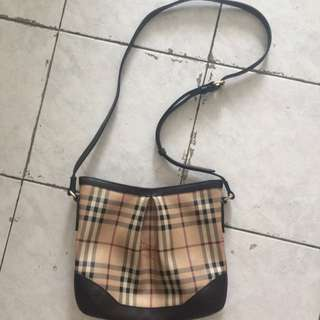 Authentic Burberry Sling Bag (Reduced price)