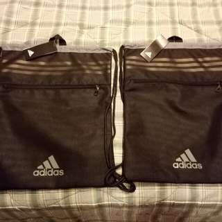 Brand New Adidas String Bag with pocket.  From JAPAN