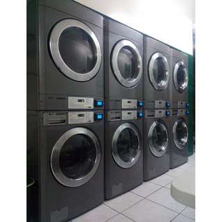 Commercial Washing Machine and Dryer - Self Service Laundry Business