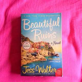 Beautiful Ruins by Jess Walters - FREE SHIPPING