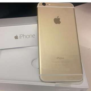 iphone 6 32gb myset (gold) swap iphone 6plus only