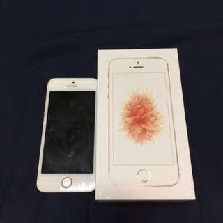 iPhone se 64g 玫瑰金 #告別舊蘋果