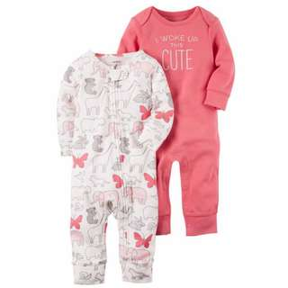 Carter's 2-Pack Babysoft Coveralls