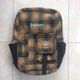 Tas Backpack Coklat