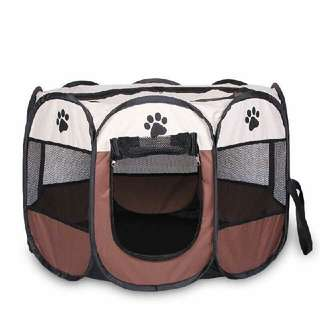 Portable Folding Pet House Tent Dog Cat Sleeping Exercise Play House Tent Bag