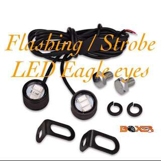 Flashing Strobe LED eagle Eyes