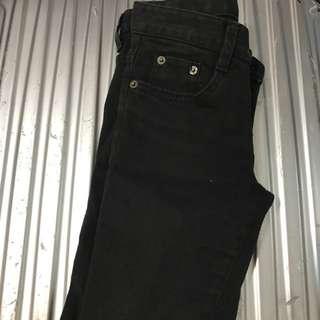 韓國🇰🇷製黑色緊身褲