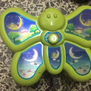 Butterfly electronic baby cradle