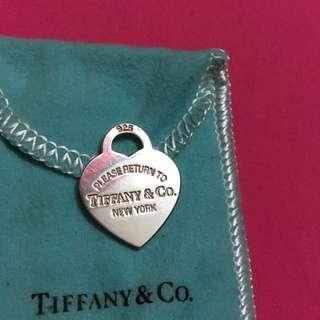Authentic Return to Tiffany heart tag Medium