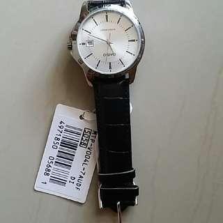 Authentic Casio Leather Men's Watch