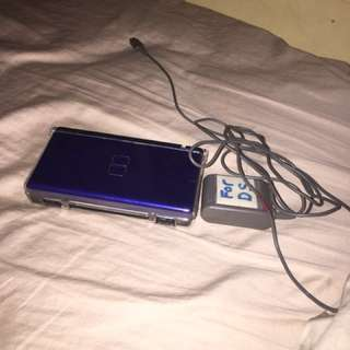 Blue and black DS Lite