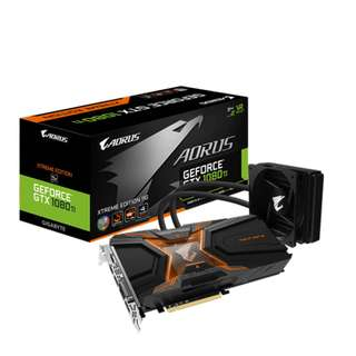 AORUS Gigabyte GTX 1080 Ti Waterforce Xtreme Edition 11GB