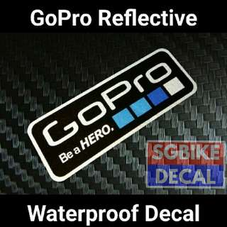 Gopro decal reflective