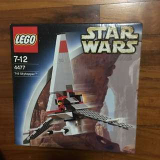 Star Wars Lego 4477 T-16 Skyhopper