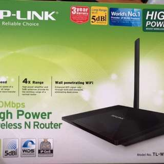 TP Link Router TL-WR841HP