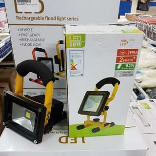 🇸🇬 AJ Rechargeable LED flood light