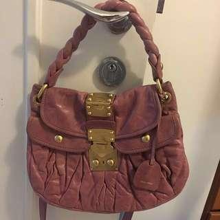 Miumiu pink bag