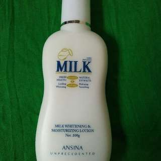 MILK Whitening & Moisturizing Lotion 100g