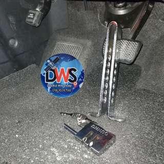 Clutch / Brake Lock for lori,kereta ,van.mpv