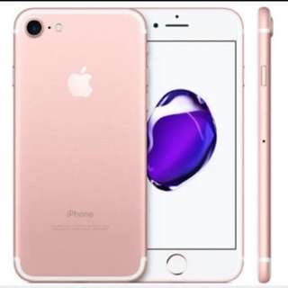 IPHONE 7 ROSE GOLD 256G