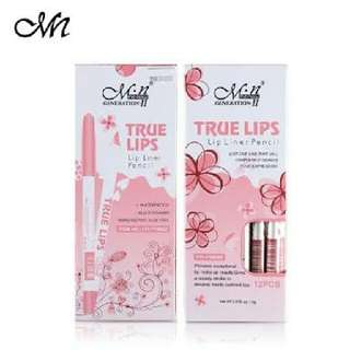 M.N True Lips lip liner pencil