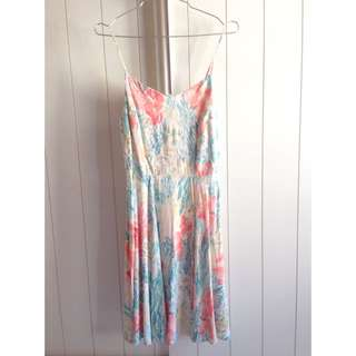 Old Navy Floral Print Dress