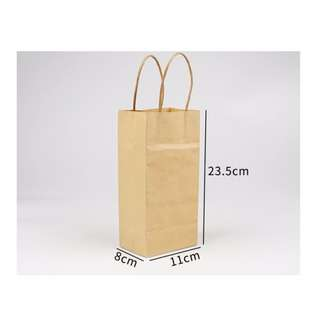 Tall Kraft Paper Bags