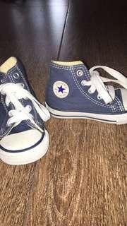 Authentic Converse (Chuck Taylor) denim shoes
