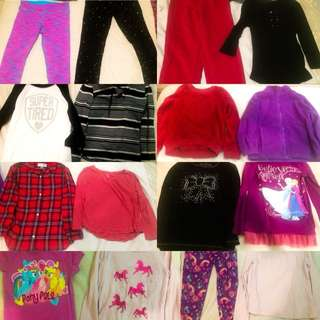 Girls Size 6x Lot Of 16