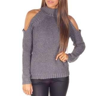 Knit grey jumper