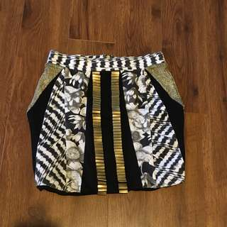 Sass & Bide Mini Skirt size 6