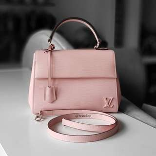Authentic Louis Vuitton Pink Epi Leather Clunny BB