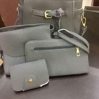 Korean 4 in 1 bag