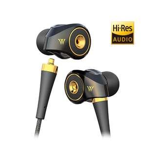 Radius HP-TWF00 Dual Diaphragm Matrix In-Ear Headphones