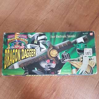 Original Mighty Morphin Power Rangers Dragon Dagger (Vintage)