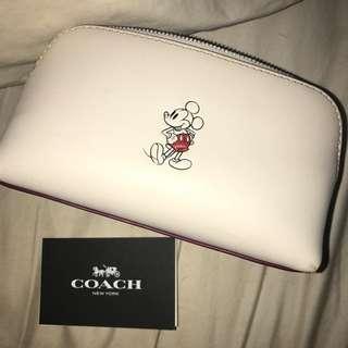 Authentic Coach Makeup/Travel Bag