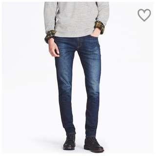 特級彈性skinny fit 牛仔褲