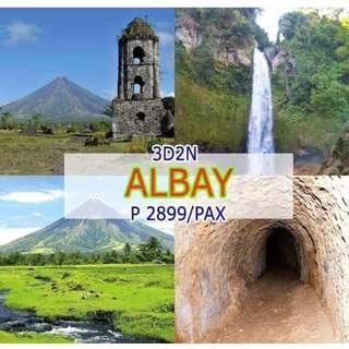 3D2N Albay Legaspi  Package Tour