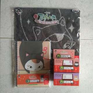 Natsume's Book of Friends ~ Charming Costume Nyanko Sensei ~ Ichiban Kuji Set