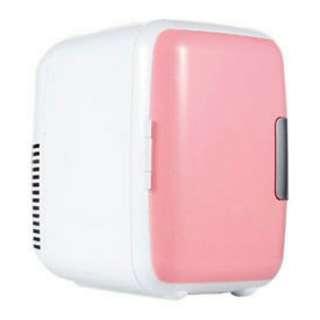 (Negotiable)  PINK Mini Portable Refrigerator Fridge Cooler Warmer Auto Car Home Office