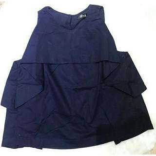 MAJE Navy Top