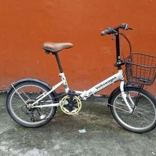 VOLKSWAGEN folding bike
